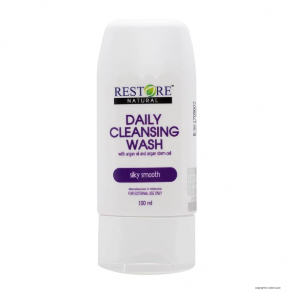 RESTORE - Daily Cleansing wash 100ml for hair, face and body