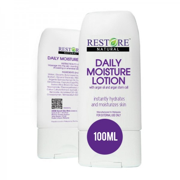 Restore Daily Moisturizing Lotion with Argan oil and stem-cell - 100ml